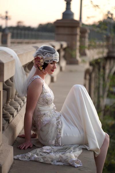 Great Gatsby Bridal Style...