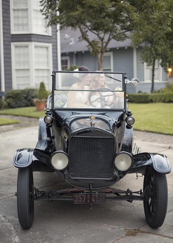 Great Gatsby Wedding Transportation...