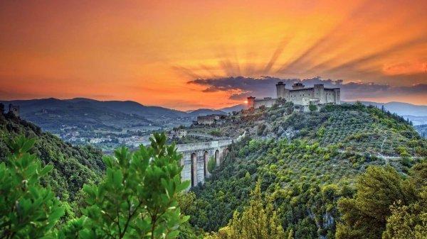 Spoleto - La Rocca Albornoziana