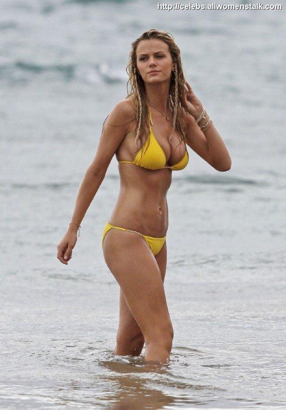 Brilliant idea Brooklyn decker hot bikini consider