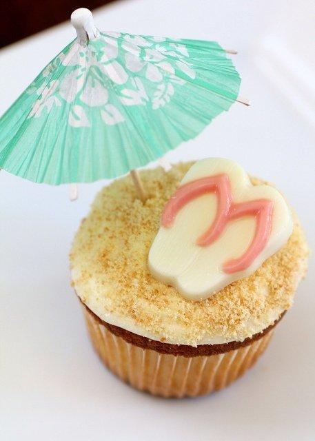 Island In the Sun Cupcakes. freebiegate.com