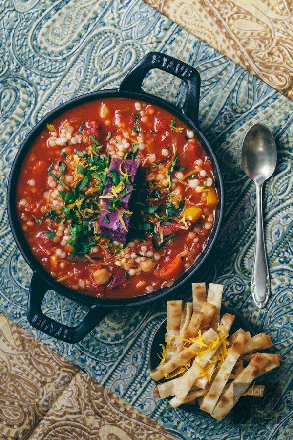 Vegan Mediterranean Harissa Stew