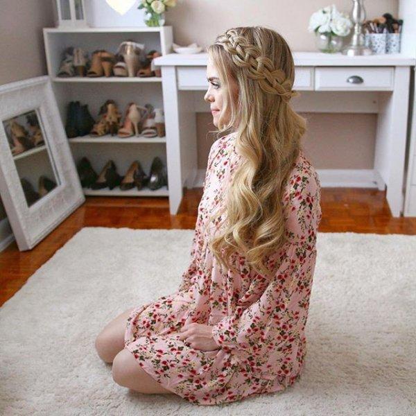 clothing, pink, dress,