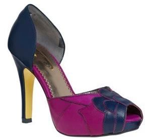 Purple Couple Heel by Poetic License