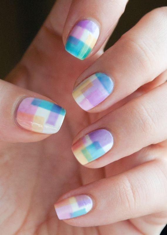 nail,color,finger,nail care,blue,