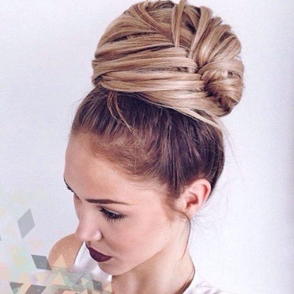 hair, hairstyle, head, bun, chignon,