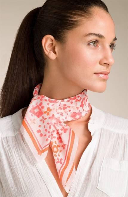 Tie Your Scarf around Your Neck