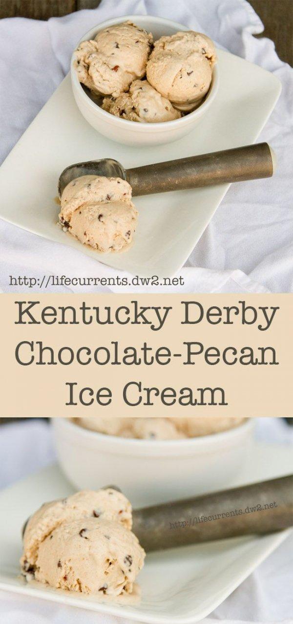 Fresh Chocolate Pecan Ice Cream