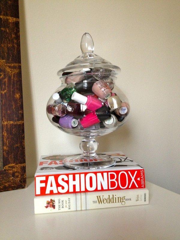 Put Loose Items in Cute Jars