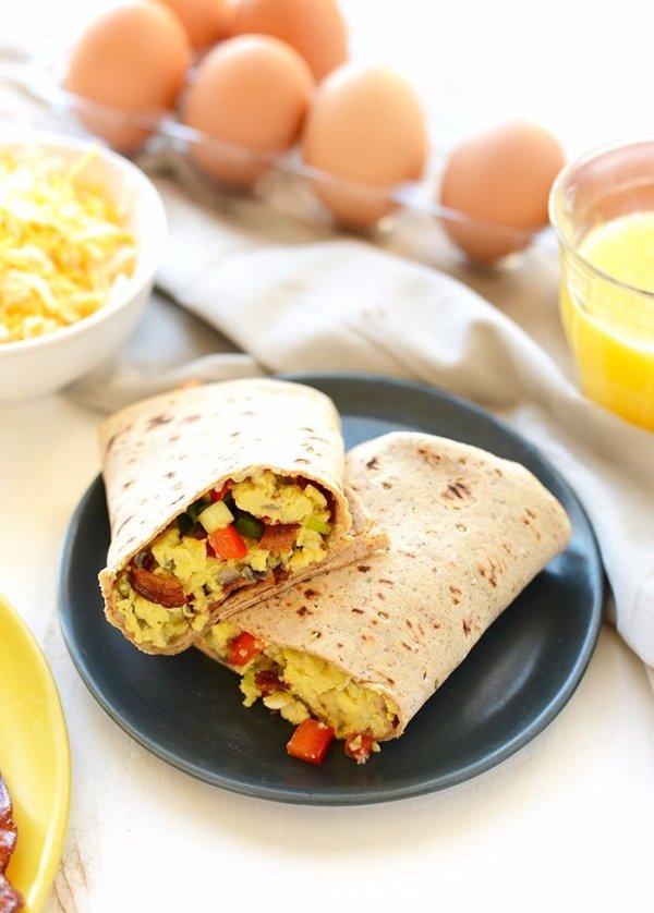 Protein-packed Breakfast Burritos