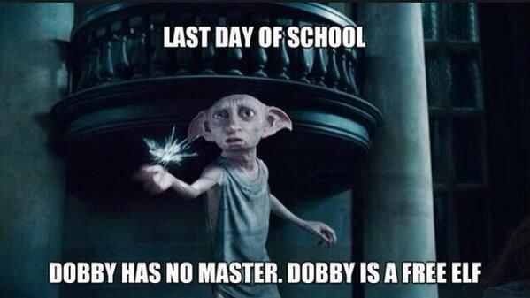 Dobby is FReeeeeee