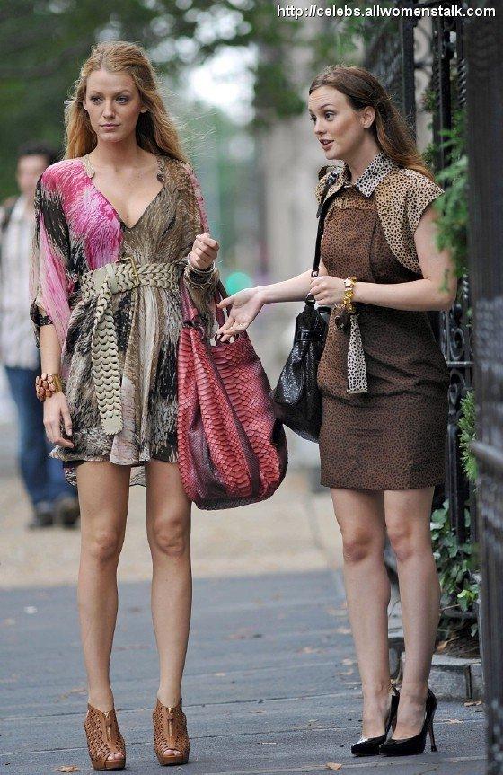Blake and Leighton on Gossip Girl