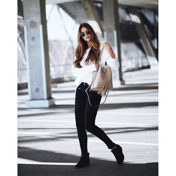 clothing, black, sleeve, footwear, leather,