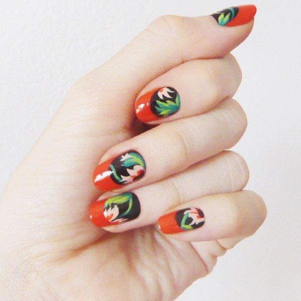 nail, manicure, finger, cosmetics, sculpture,