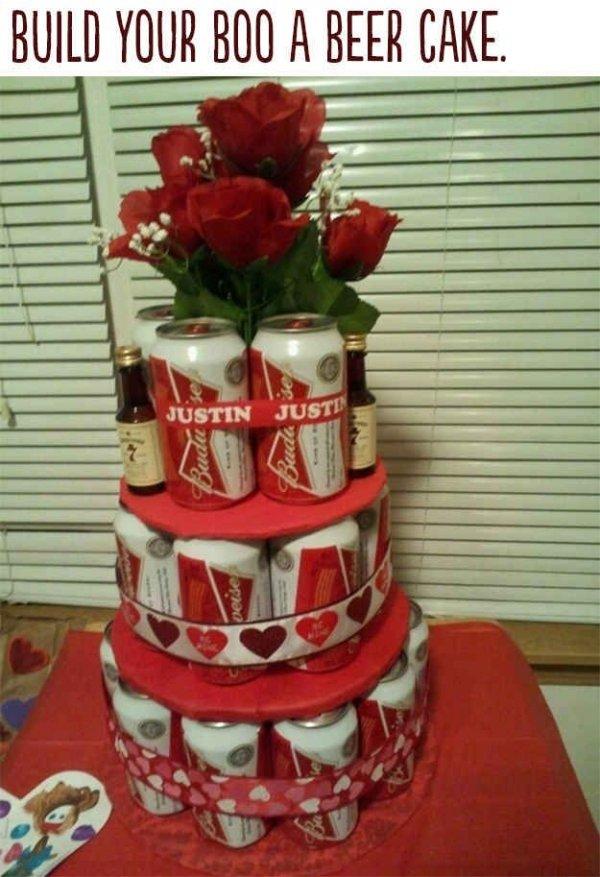 Make Him a Beer Cake