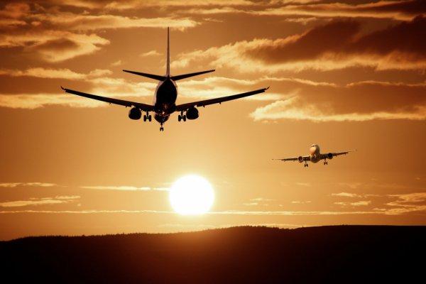 sky, air travel, airplane, aviation, flight,