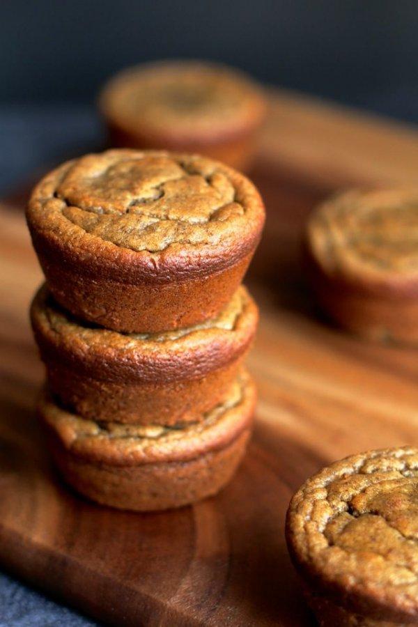 Flourless Banana Bread Muffins