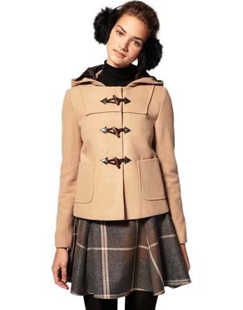 ASOS Short Duffle Coat