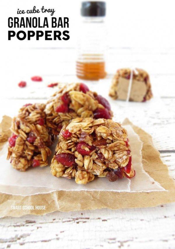 Granola Fruit Bar Poppers