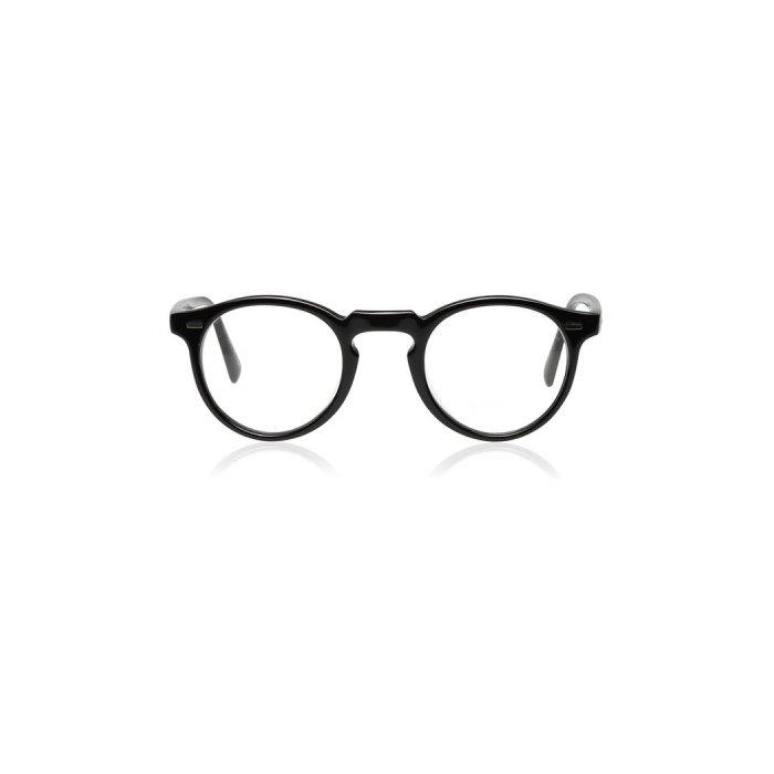Oliver Peoples Gregory Peck Glasses, Black