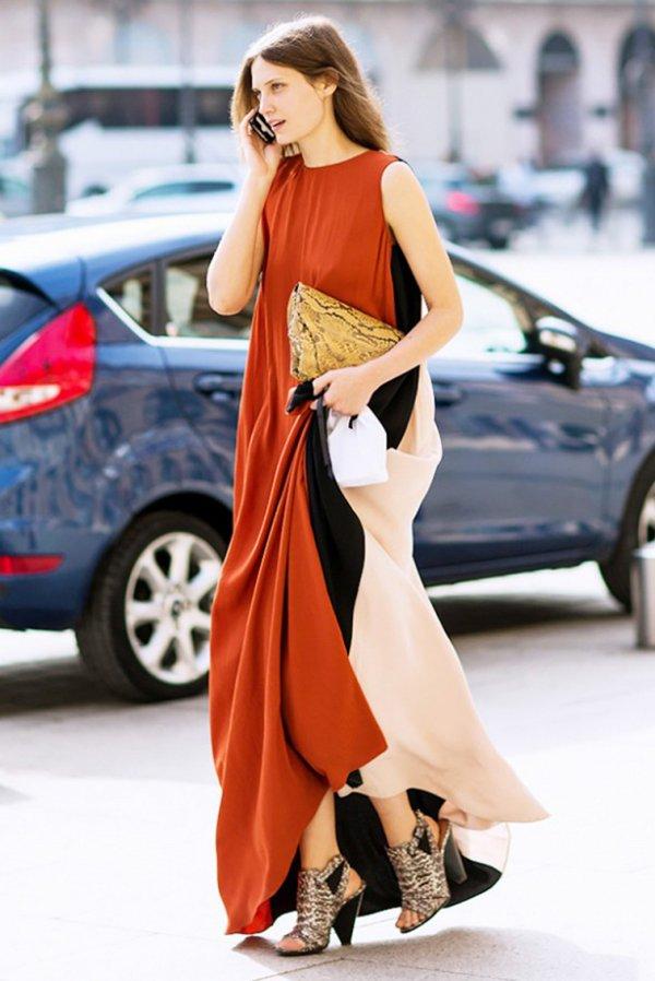 The Colorblock Dress