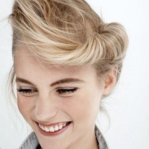 hair, face, eyebrow, hairstyle, blond,
