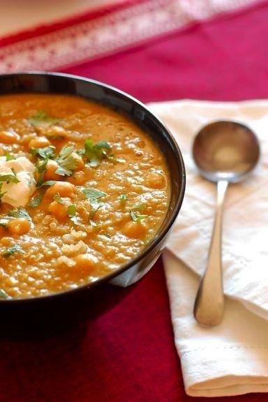 Squash & Chickpea Moroccan Stew