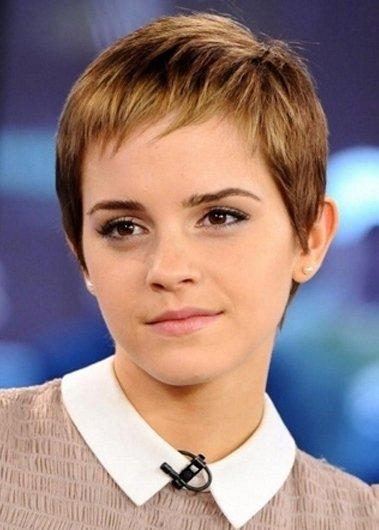 Emma Watson S Textured Baby Bangs 7 Best Short Hairstyles