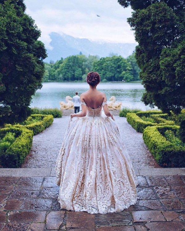 clothing, wedding dress, woman, dress, bridal clothing,