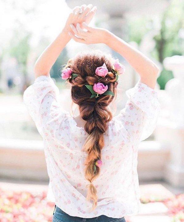 woman, bride, flower, flower bouquet,