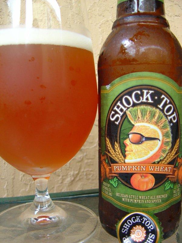 Shock Top Pumpkin Wheat Ale