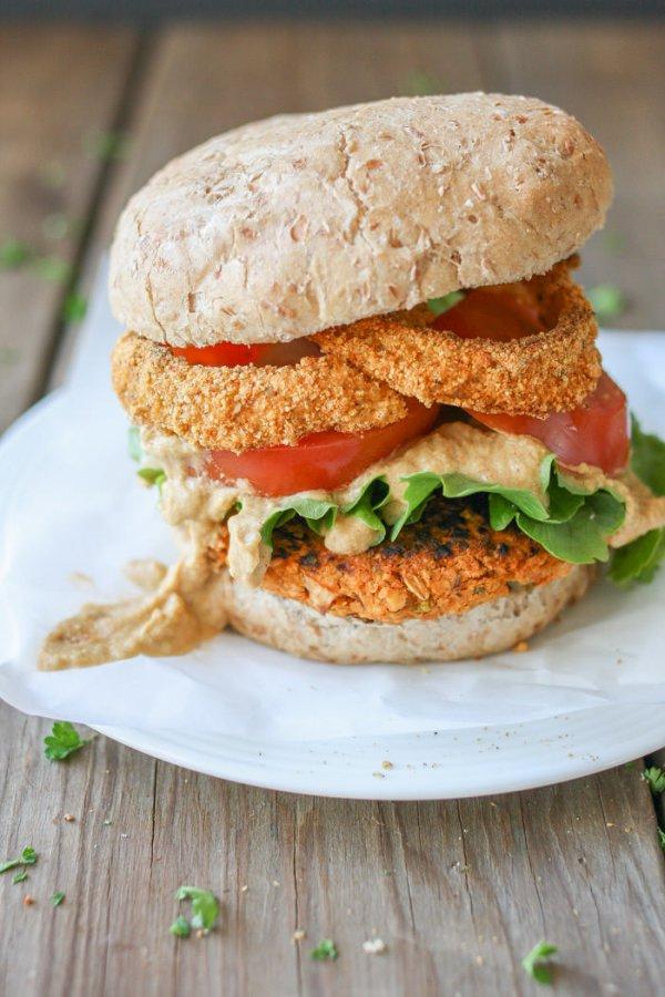 food, dish, veggie burger, produce, breakfast sandwich,