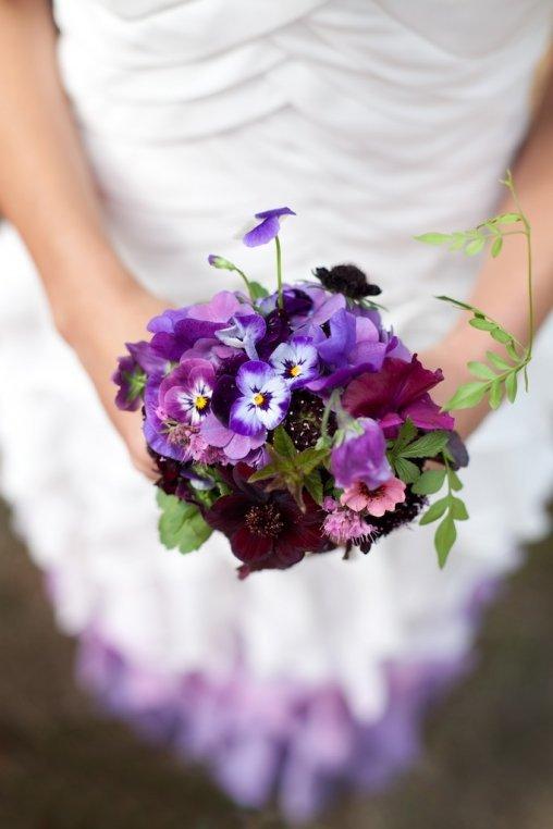 flower, flower bouquet, flower arranging, purple, violet,