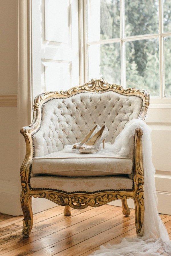 Ornate Vintage Chair