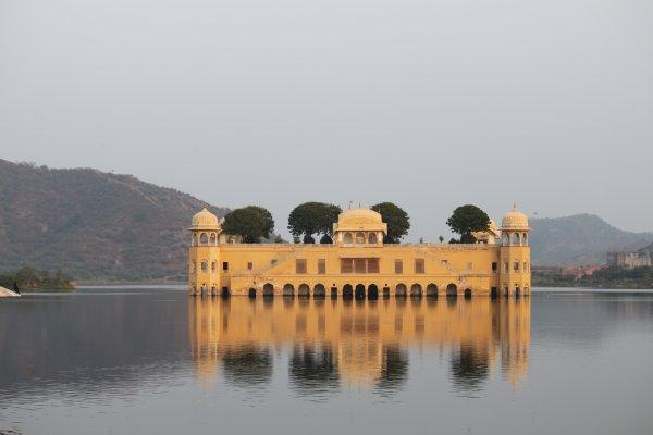 Water Palace of Jaipur, Jal Mahal, India