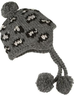 Eugenia Kim Skye Leopard Hand-Knitted Wool Hat