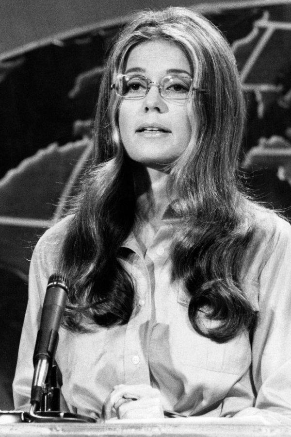 Gloria Steinem (1934 – P.)