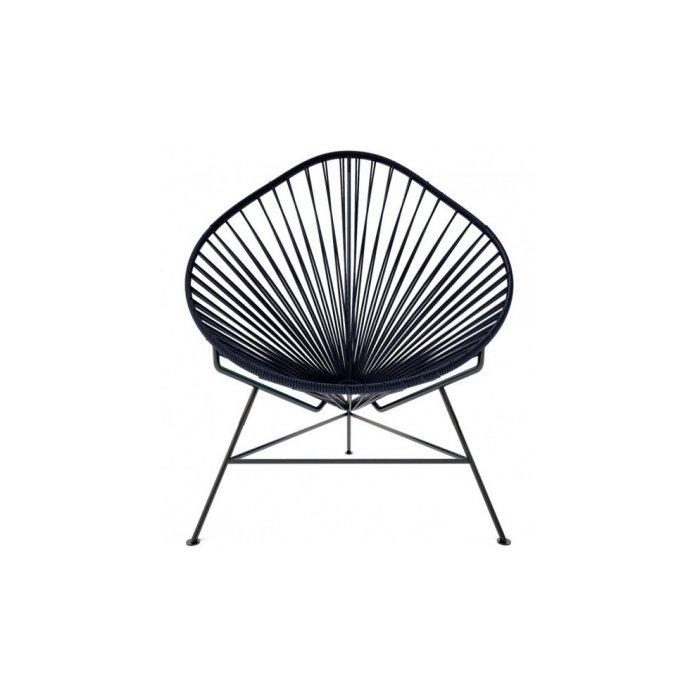 Acapulco Modern Steel Lounge Chair