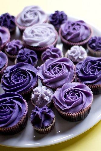 Purple Cupcakes