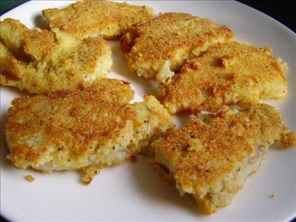 Crispy Oven Fried Cod