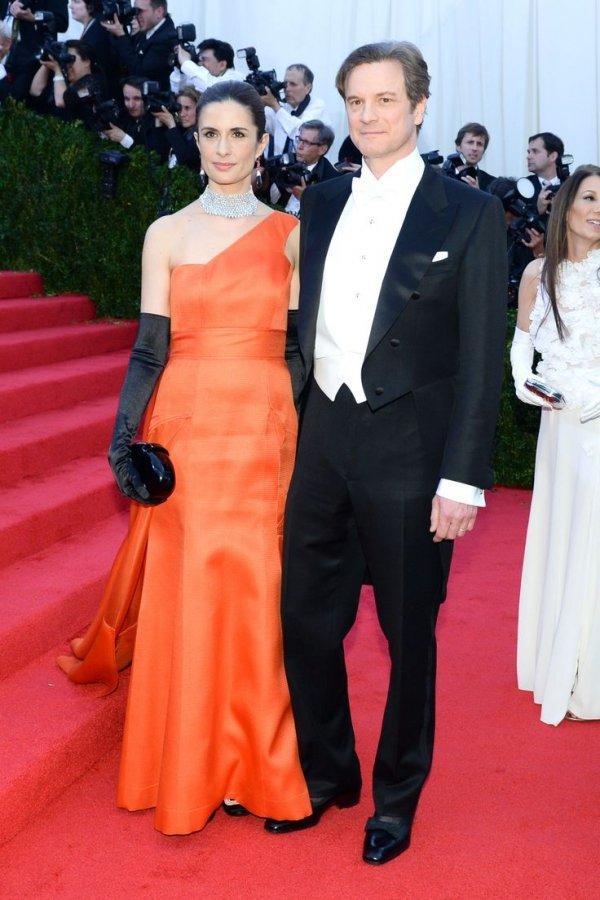 Colin Firth & Livia Giuggioli