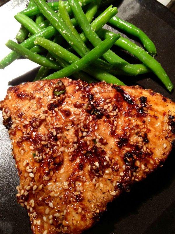 Asian Sesame Grilled Tuna Steak