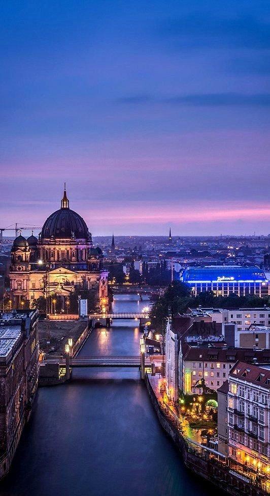 cityscape,reflection,landmark,night,city,