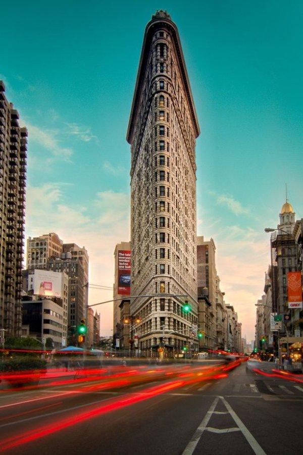 Flat Iron Building, New York, USA