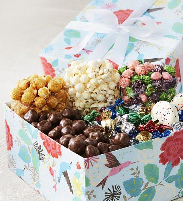 food, gift, gift basket, sweetness, dessert,