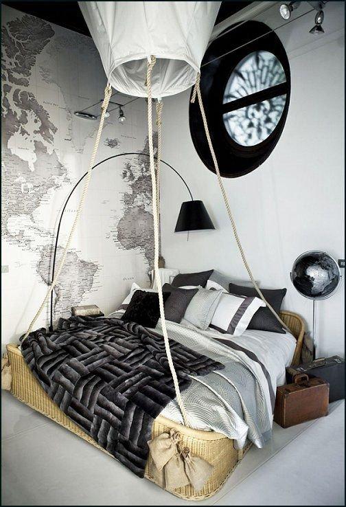 HOT AIR BALLOON THEME BEDROOM