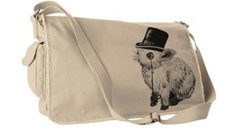 Deadworry Sir Fancy Rabbit Messenger Bag