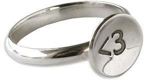 <3 Heart Dainty Ring