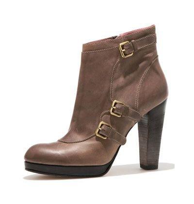 Derek Lam Leather Pilar Ankle Boot