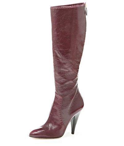 Oscar De La Renta Leather Knee-high Boot